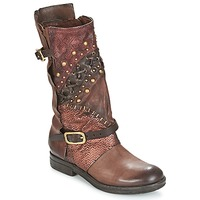 Zapatos Mujer Botas de caña baja Airstep / A.S.98 VERTI Chocolate / Amaranto
