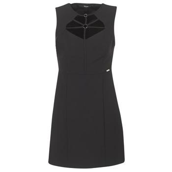 textil Mujer vestidos cortos Guess SLOREPA Negro