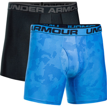 textil Hombre Boxer / Calzoncillos Under Armour UA Original Series Printed BoxerJock (Lot x2) Azul