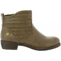 Zapatos Niña Botines Cheiw 46033 Beige