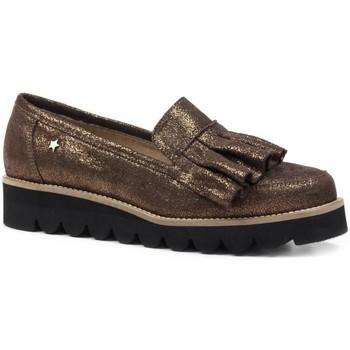 Zapatos Mujer Derbie Cubanas Zapatos Di-LANA 100M Oro