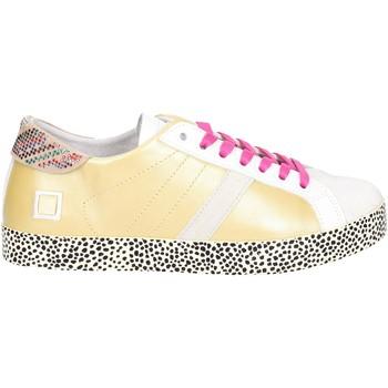 Zapatos Mujer Zapatillas bajas Date HILL LOW-22E Oro