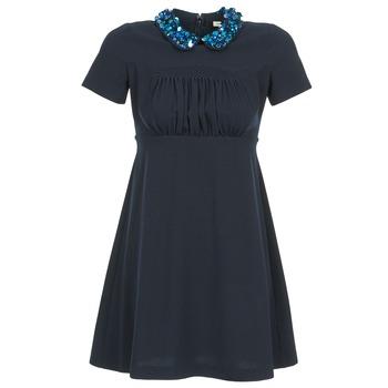textil Mujer vestidos cortos Manoush COMMUNION Azul