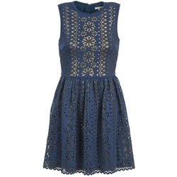 textil Mujer vestidos cortos Manoush NEOPRENE Azul / Dorado
