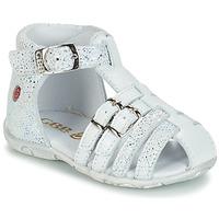 Zapatos Niña Sandalias GBB SAMIRA Vte / Blanco / Dpf / Zabou
