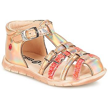 Zapatos Niña Zapatillas bajas GBB PERLE Tts / Rosa / Metal - fluor / Dpf / Nemo