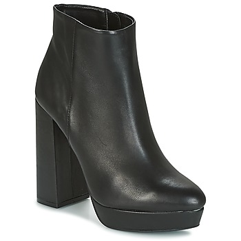 Zapatos Mujer Botines Buffalo  Negro