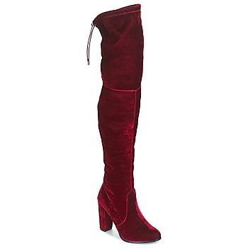 Zapatos Mujer Botas a la rodilla Buffalo  Rojo