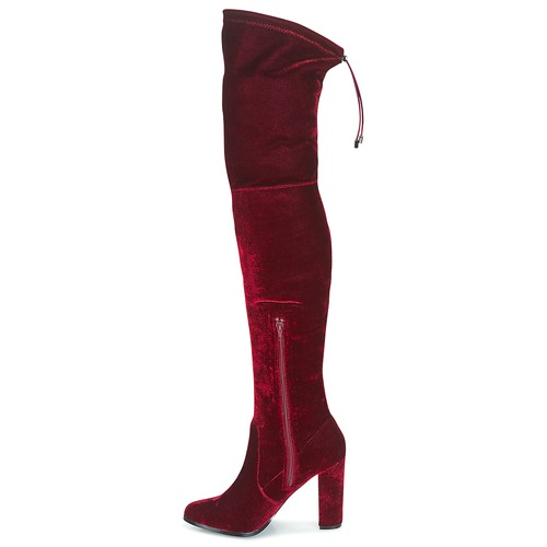 Buffalo Mujer Zapatos La Rodilla Rojo A Botas dhCtsrQ