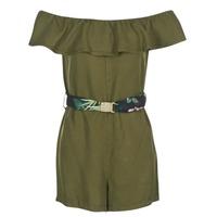 textil Mujer vestidos cortos Guess RESPUNNI Kaki