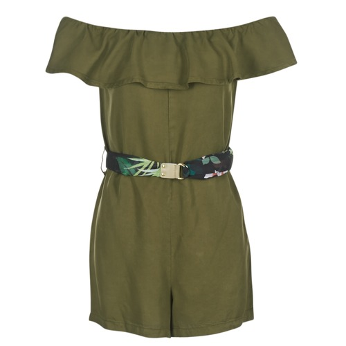Guess Kaki Respunni Textil Cortos Vestidos Mujer 8O0mwvNn
