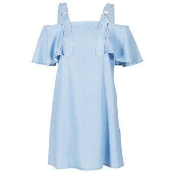 textil Mujer vestidos cortos Guess RACUNO Azul