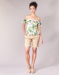 textil Mujer Shorts / Bermudas Guess BENARIO Beige