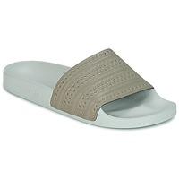 Zapatos Chanclas adidas Originals ADILETTE Beige / Verde