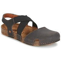 Zapatos Mujer Sandalias Art WE WALK Gris / Negro