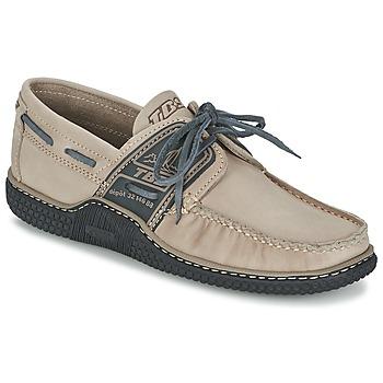 Zapatos Hombre Zapatos náuticos TBS GLOBEK Beige