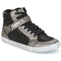 Zapatos Mujer Zapatillas altas Kaporal SNATCHY Negro
