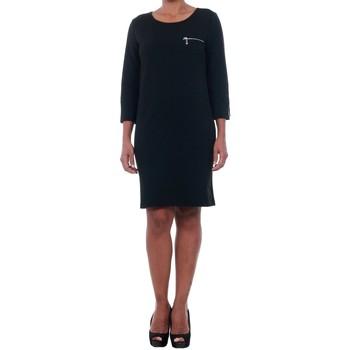 textil Mujer vestidos cortos Jacqueline De Yong 15142620 JDYSAXO 3/4 DRESS JRS BLACK Negro