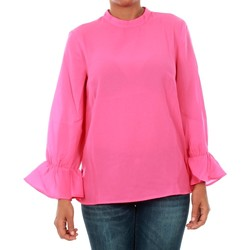 textil Mujer Tops / Blusas Only 15149954 ONLTOKE FLARE 3/4 TOP WVN FUCHSIA PURPLE Fucsia