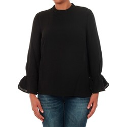 textil Mujer Tops / Blusas Only 15149954 ONLTOKE FLARE 3/4 TOP WVN BLACK Negro