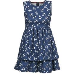 textil Mujer vestidos cortos Kling ANCORINE Marino