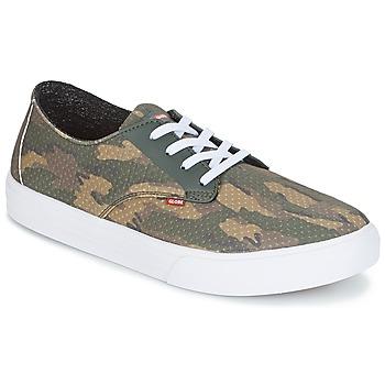Zapatos Hombre Zapatos de skate Globe Motley LYT Verde