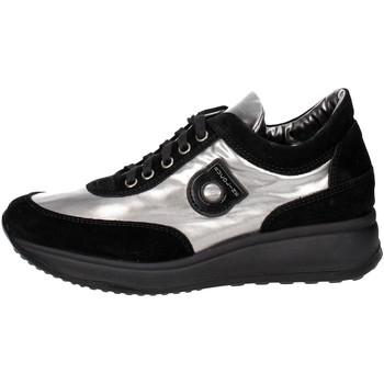 Zapatos Mujer Zapatillas bajas Agile By Ruco Line 1304(6) Negro/Plata
