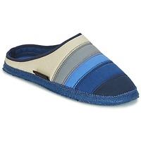 Zapatos Mujer Pantuflas Giesswein AZUSA Azul / Beige