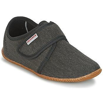Zapatos Niños Pantuflas Giesswein Senscheid Gris