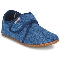 Zapatos Niños Pantuflas Giesswein SENSCHEID Azul