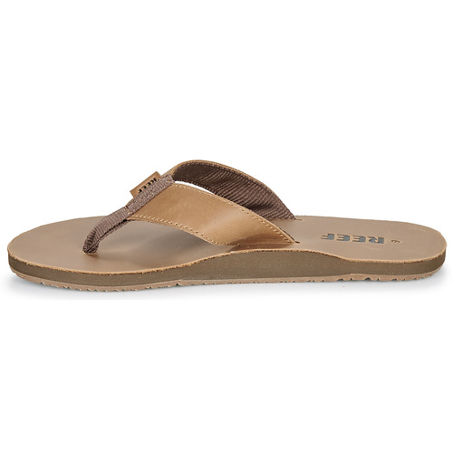 Leather Smoothy Zapatos Reef Chanclas Marrón Hombre y8wOnmvN0