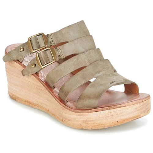 Sandalias Noa AirstepA s Mujer Zapatos Kaki 98 Pn0wO8Xk