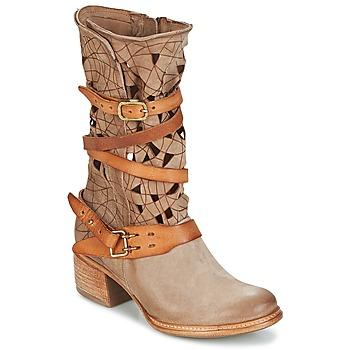 Zapatos Mujer Botas de caña baja Airstep / A.S.98 CRUZ Beige