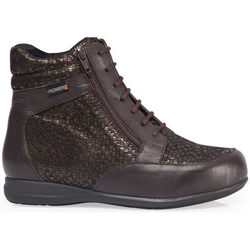 Zapatos Mujer Zapatillas altas Calzamedi ES  DIABÉTICOS ESCAMAS W MARRON