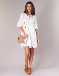 textil Mujer vestidos cortos Betty London INNATU Blanco