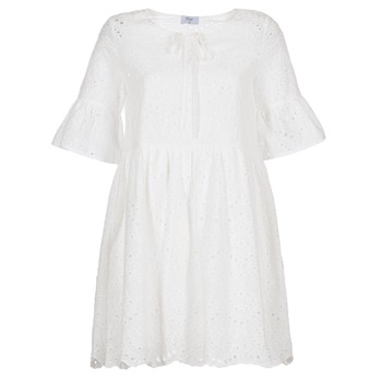 textil Mujer vestidos cortos Betty London INNATU Blanco