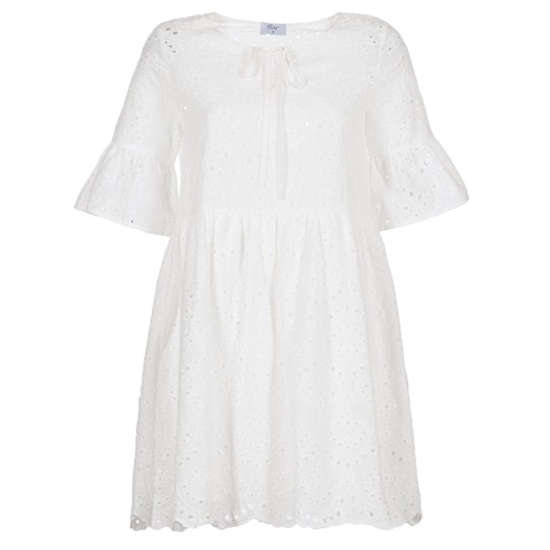 Betty London INNATU Blanco - Envío gratis | ! - textil vestidos cortos Mujer