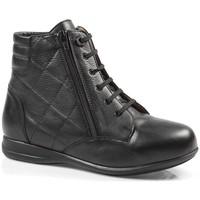 Zapatos Mujer Zapatillas altas Calzamedi ES  ESPECIAL DIABÉTICOS W NEGRO
