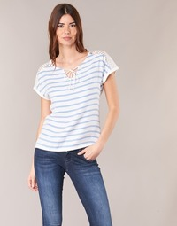 textil Mujer Tops / Blusas Casual Attitude IYUREOL Blanco / Azul