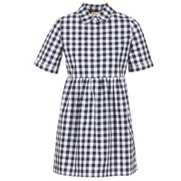 textil Mujer vestidos cortos Moony Mood IKAMAL Blanco / Negro