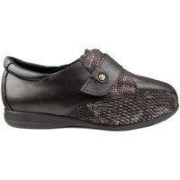 Zapatos Mujer Derbie & Richelieu Calzamedi S  DIABÉTICO W 611 MARRON
