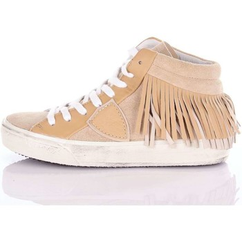 Zapatos Mujer Zapatillas bajas Philippe Model Paris MDHDFL15 Sneakers Mujer Beige Beige
