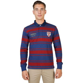 textil Hombre polos manga larga Oxford University - queens-rugby-ml 8