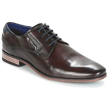 Zapatos Hombre Derbie Bugatti Refito Dark / Brown