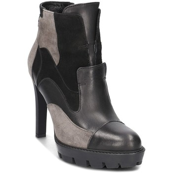 Zapatos Mujer Low boots Carinii S3738E50H92063A14 Grises-Negros