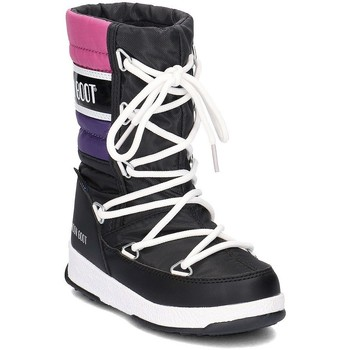 Zapatos Niños Botas de nieve Moon Boot WE Quilted Negro