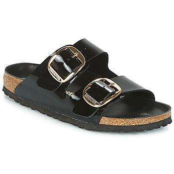 Zapatos Mujer Zuecos (Mules) Birkenstock ARIZONA BIG BUCKLE Negro