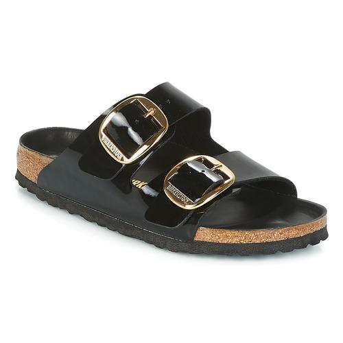 Venta de liquidación de temporada Zapatos especiales Birkenstock ARIZONA BIG BUCKLE Negro