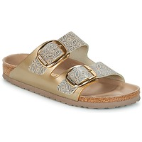 Zapatos Mujer Zuecos (Mules) Birkenstock ARIZONA BIG BUCKLE Oro