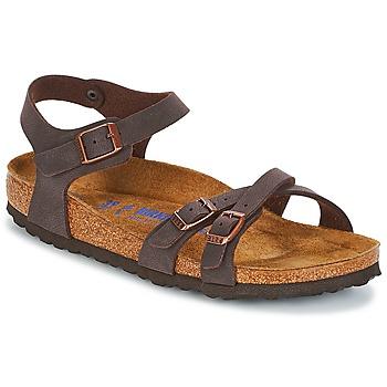 Zapatos Mujer Sandalias Birkenstock KUMBA SFB Marrón